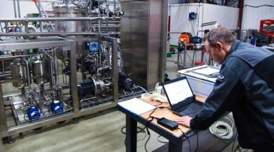 IPSIA - Skid NEP façonnier cosmétique bio