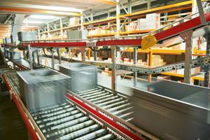 Chaine de production automatisée avec le système batch